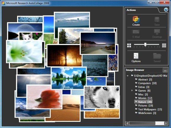 Powerpoint Photo Collage Template Autocollage Automatically Create Amazing Collage From