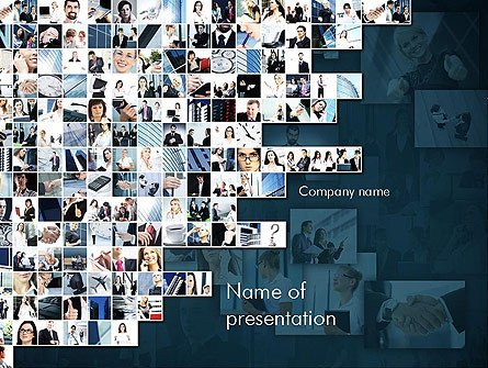 Powerpoint Photo Collage Template Collage Powerpoint Templates and Backgrounds for Your