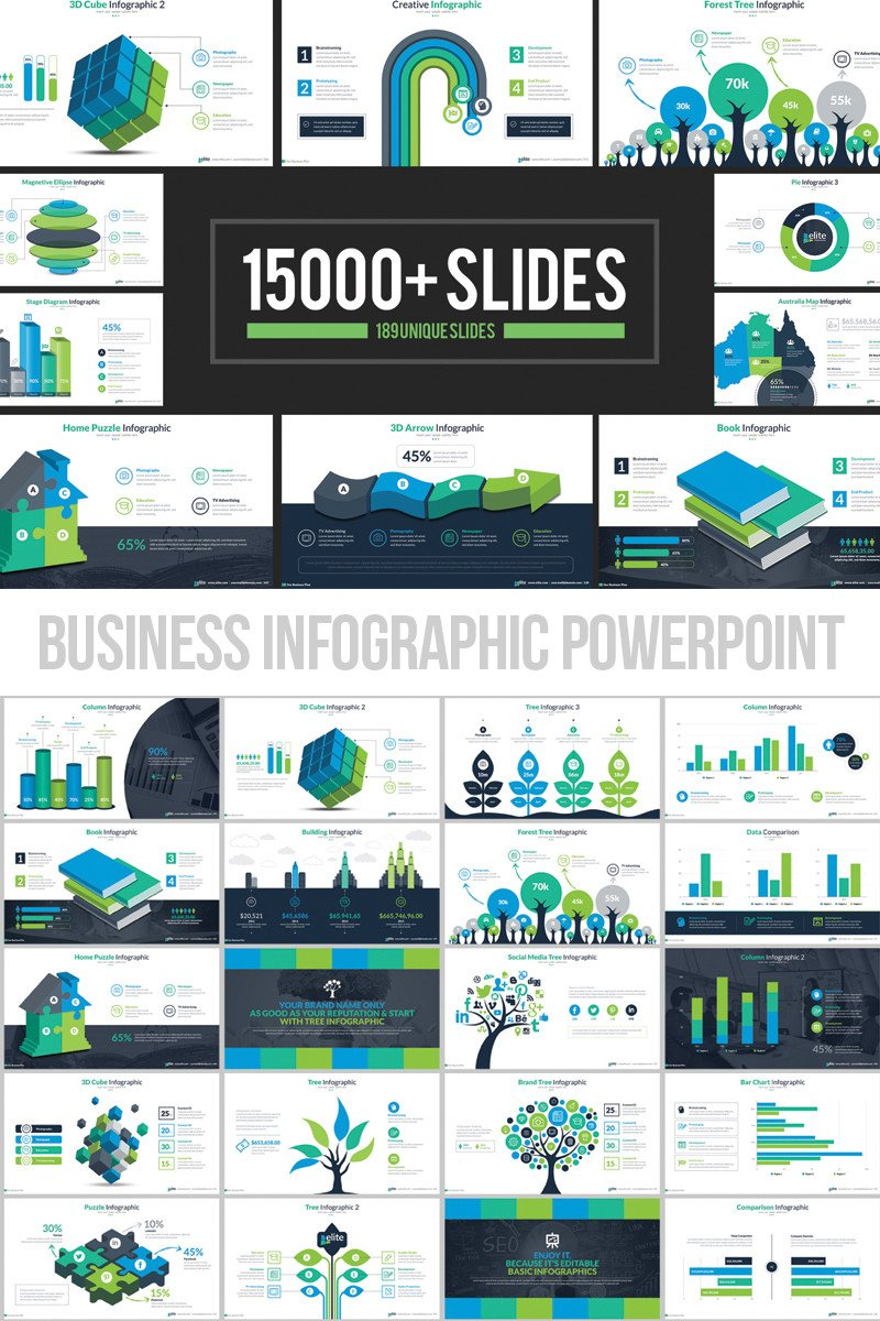 Powerpoint Presentation Outline Example Business Infographic Presentation Powerpoint Template