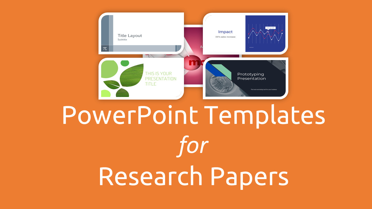 Powerpoint Presentation Outline Example Free Powerpoint Templates for Research Papers Presentation