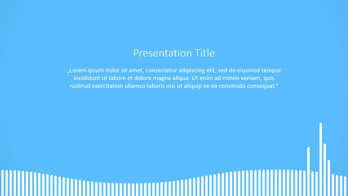 Powerpoint Presentation Outline Example Free Powerpoint Templates