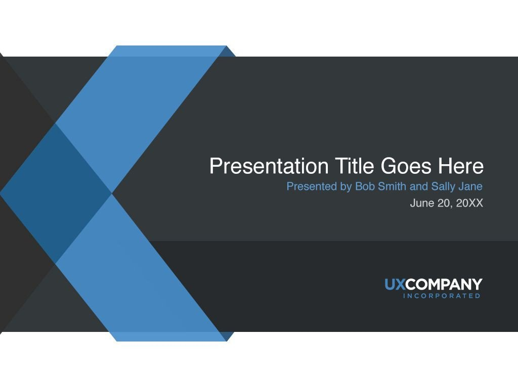 Powerpoint Presentation Outline Example Presentation Cover Screenshot
