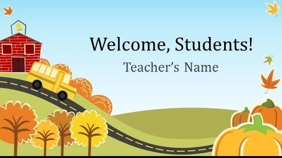 Powerpoint Templates for Teachers Free Elementary School Teacher Template for Powerpoint