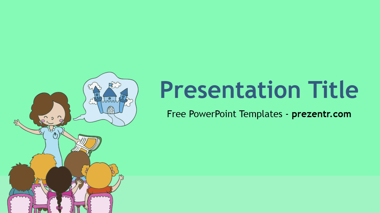 Powerpoint Templates for Teachers Free Teacher Powerpoint Template Prezentr Powerpoint