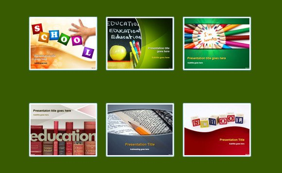 Powerpoint Templates Free Education Best Free Powerpoint Templates for Teachers