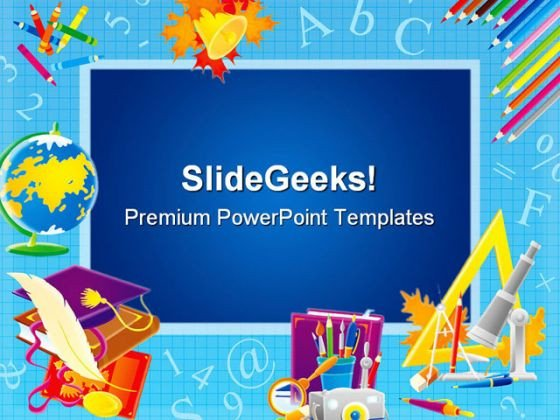Powerpoint Templates Free Education Frame Education Powerpoint Template 0610