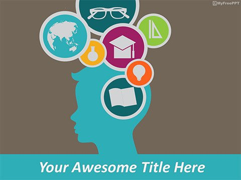 Powerpoint Templates Free Education Free Puzzle Powerpoint Templates themes & Ppt