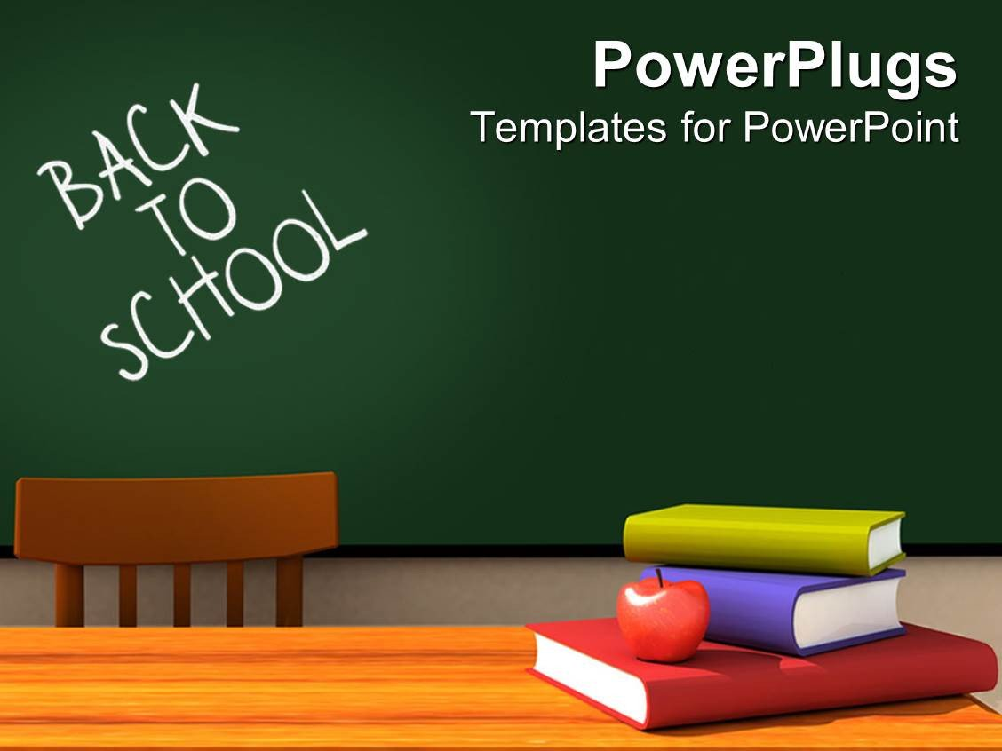 Powerpoint Templates Free Education Powerpoint Template Back to School Classroom with