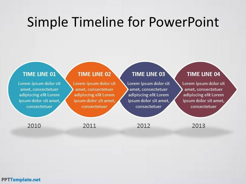 Powerpoint Timeline Template Free Free Timeline Ppt Template