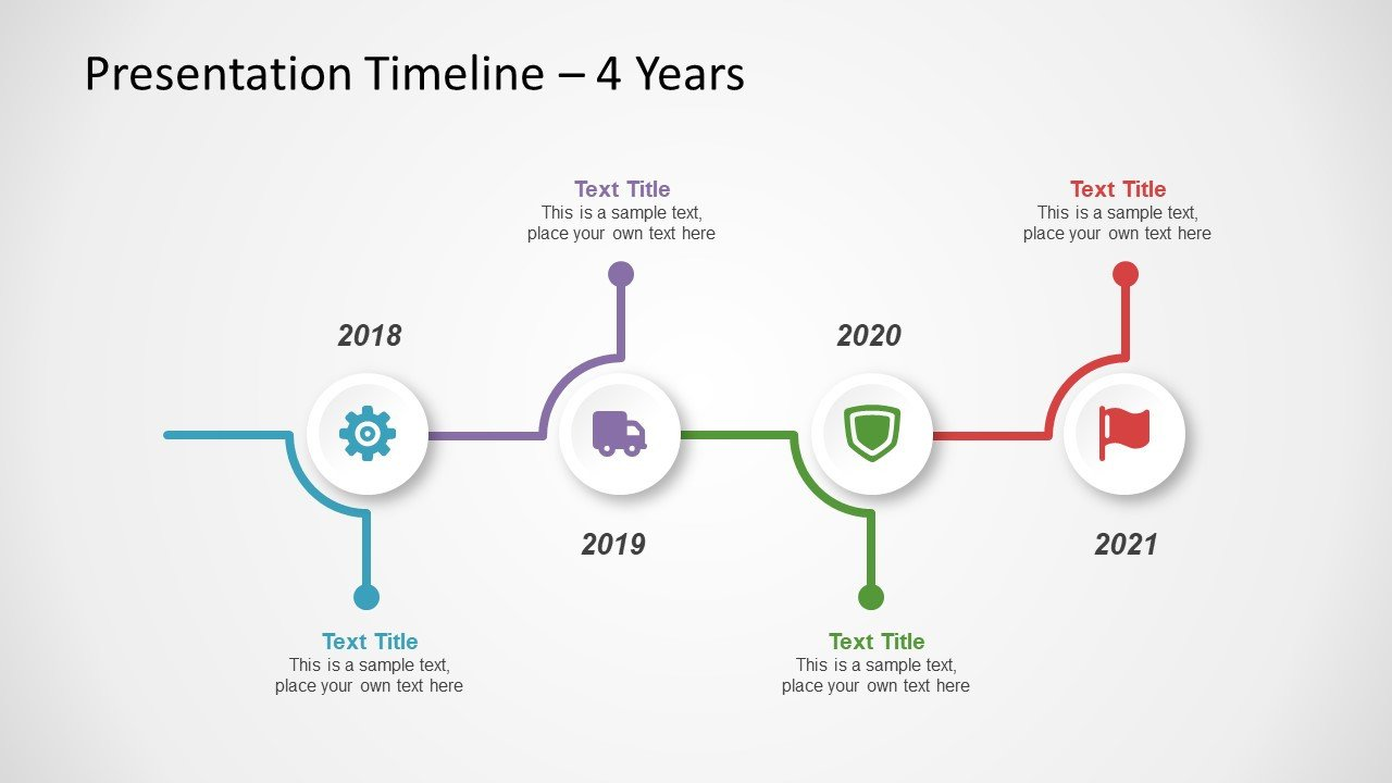 Powerpoint Timeline Template Free Free Timeline Template for Powerpoint Slidemodel