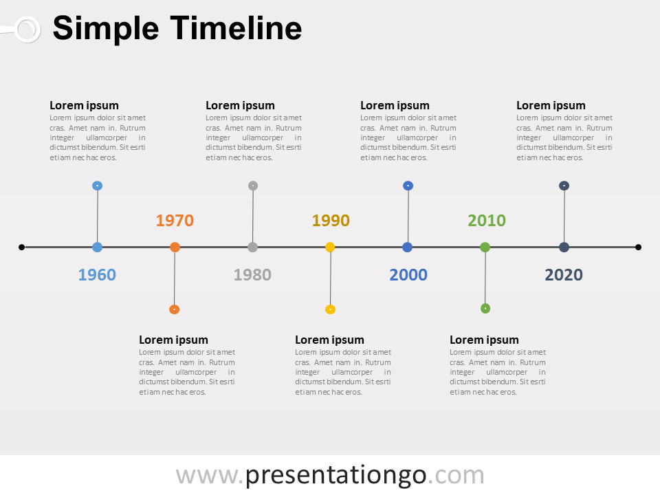 Powerpoint Timeline Template Free Free Timelines Powerpoint Templates Presentationgo