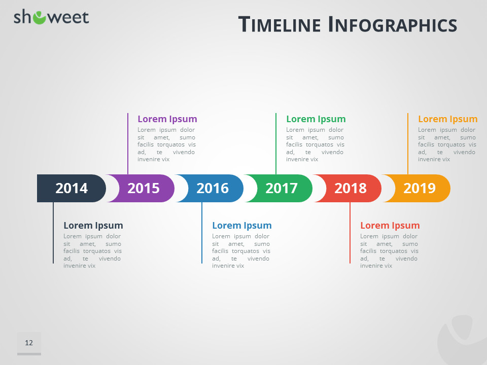 Powerpoint Timeline Template Free Timeline Infographics Templates for Powerpoint
