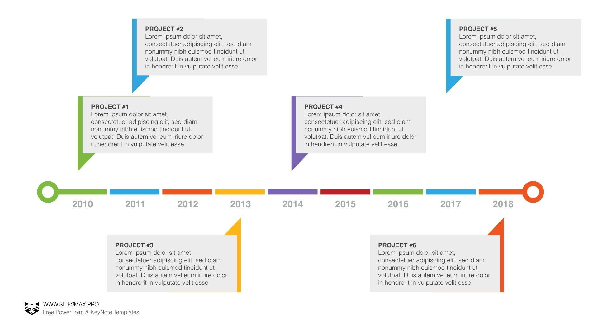 Powerpoint Timeline Template Free Timeline Plan Ppt Powerpoint