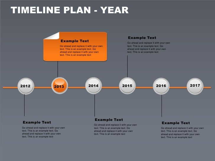 Powerpoint Timeline Template Free Timeline Plan Year Free Powerpoint Charts