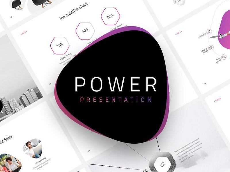 Ppt Presentation Template Free Power Free Minimal Powerpoint Template by Pixel Surplus