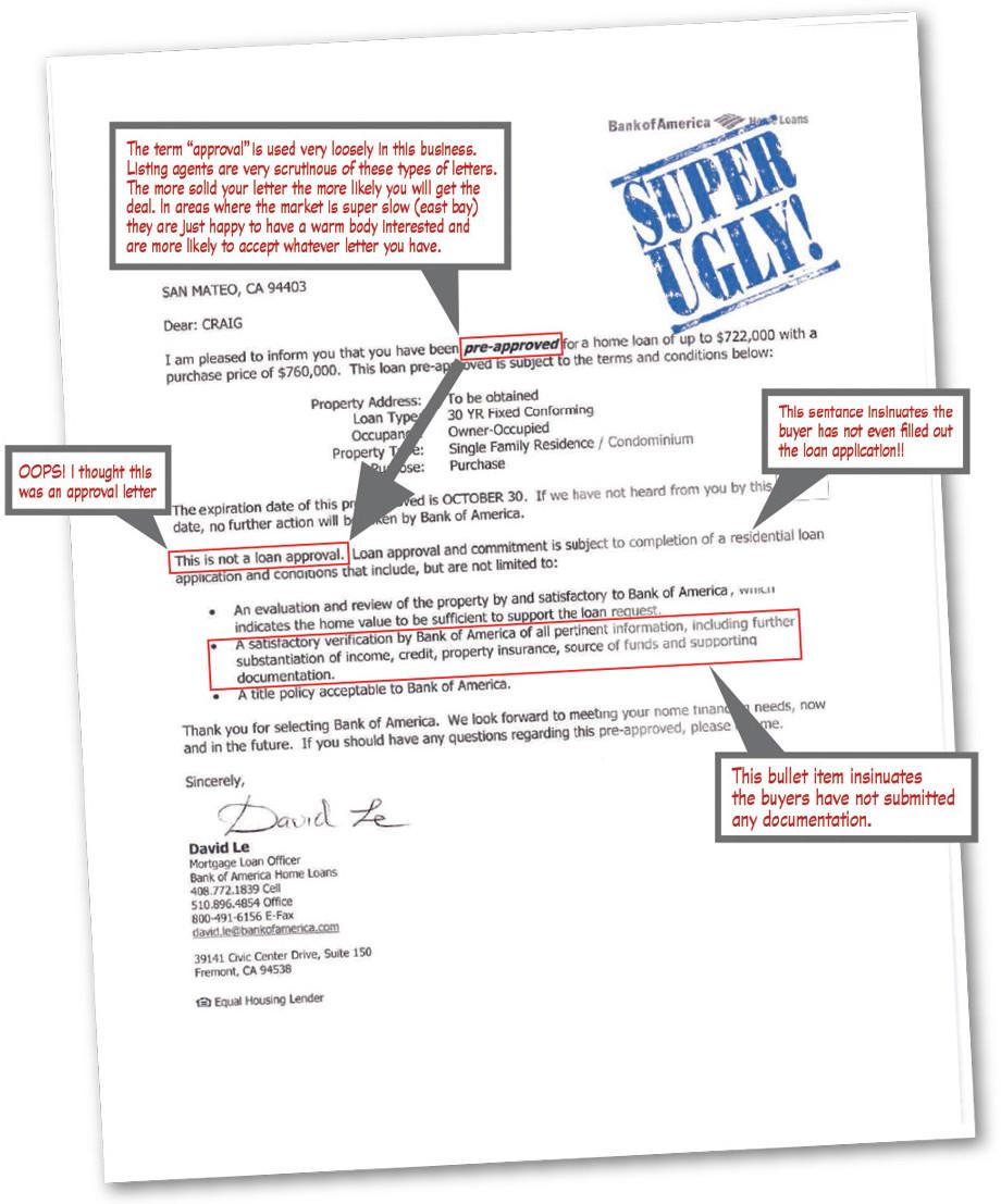 Pre Approval Letter Sample Pre Approval Letter