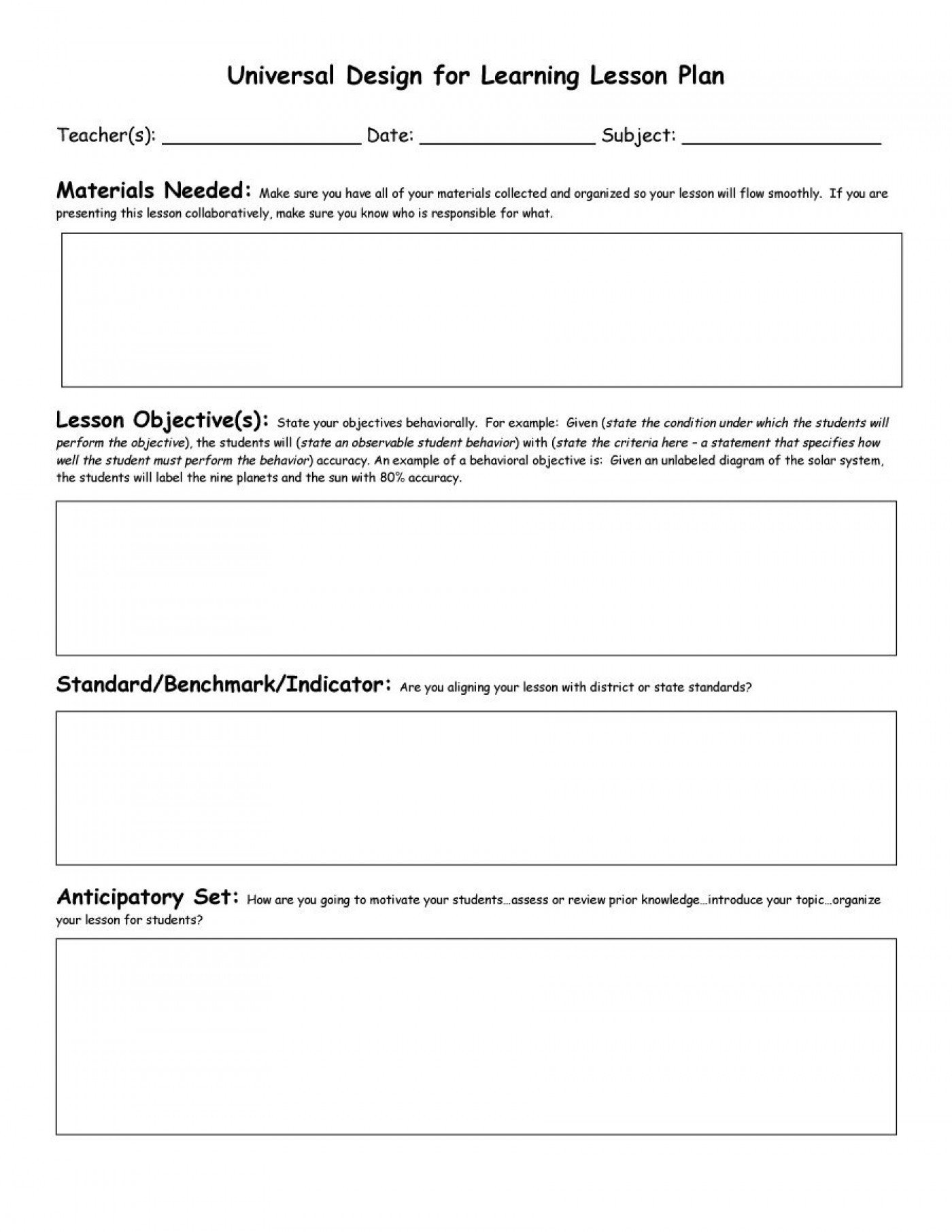 Pre K Lesson Plan Template 020 Pre K Lesson Plan Template Weekly Teacher Planner