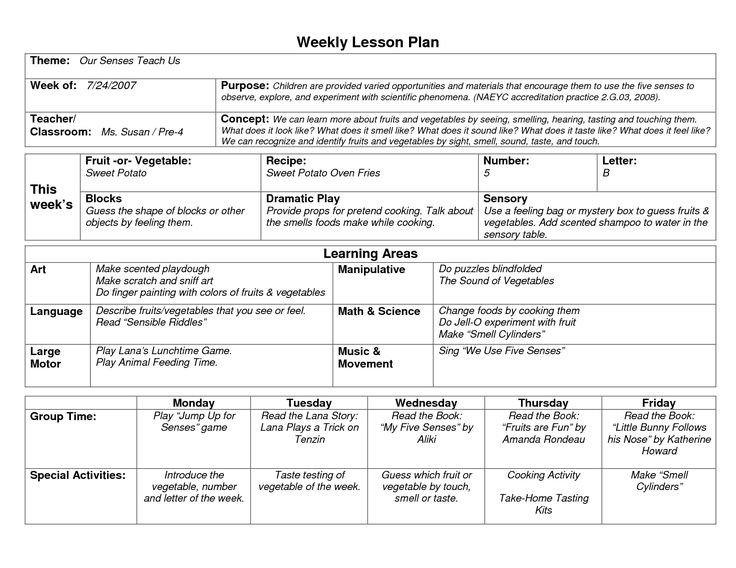 Prek Lesson Plan Templates Best 25 Preschool Lesson Template Ideas On Pinterest