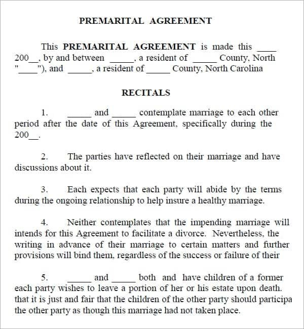 Prenuptial Agreement Template Word Download Free Prenuptial Agreement Free Template Uk