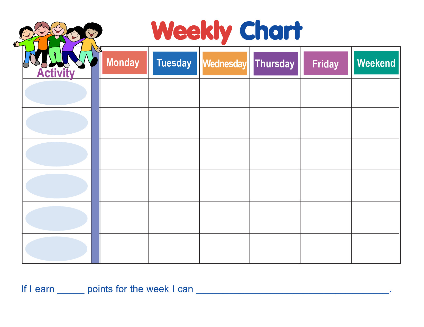 Preschool Behavior Chart Template Behavior Chart Template … …
