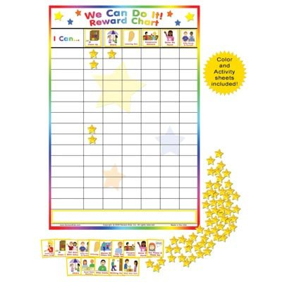 Preschool Behavior Chart Template Creative Child Magazine We Can Do It Behavior Chart