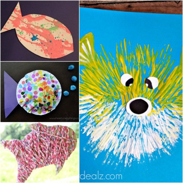 Preschool Fish theme Adorable Fish Crafts for Kids Fantastic Fun & Learning