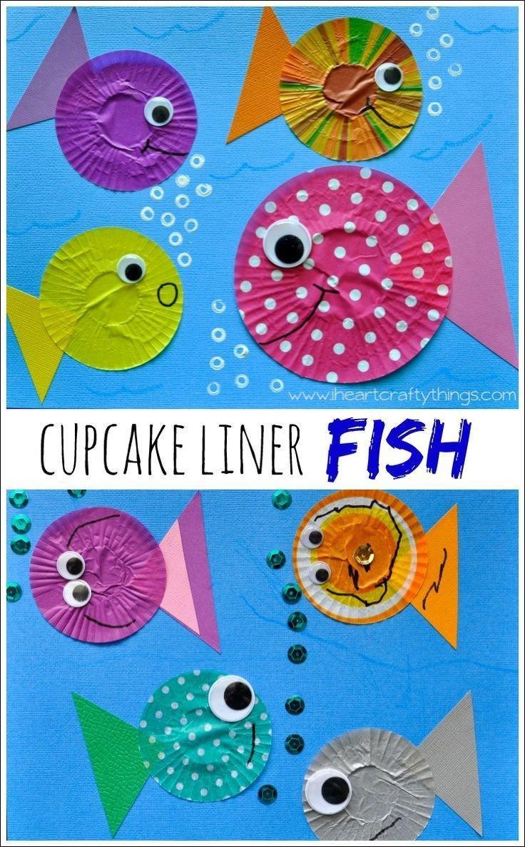 Preschool Fish theme Best 20 Preschool Color Crafts Ideas On Pinterest