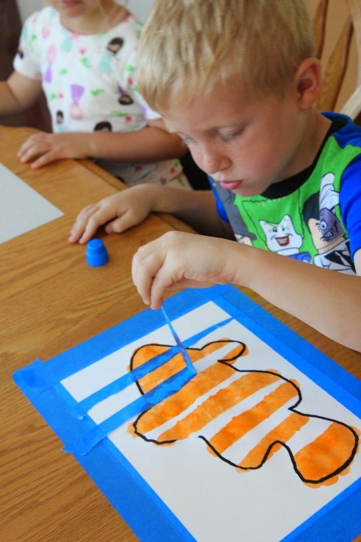 Preschool Fish theme Ocean Week Lesson Plans for Kindergarten & 1st
