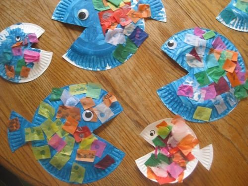 Preschool Fish theme Rainbow Fish Love This One Especially if It Has A Little