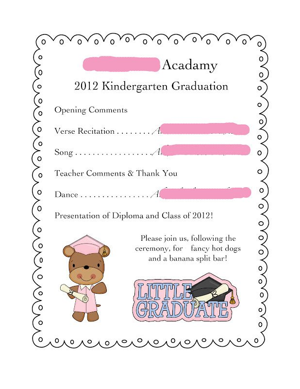 Preschool Graduation Programs Template the Nature Of Grace Homeschool theme Of the Week