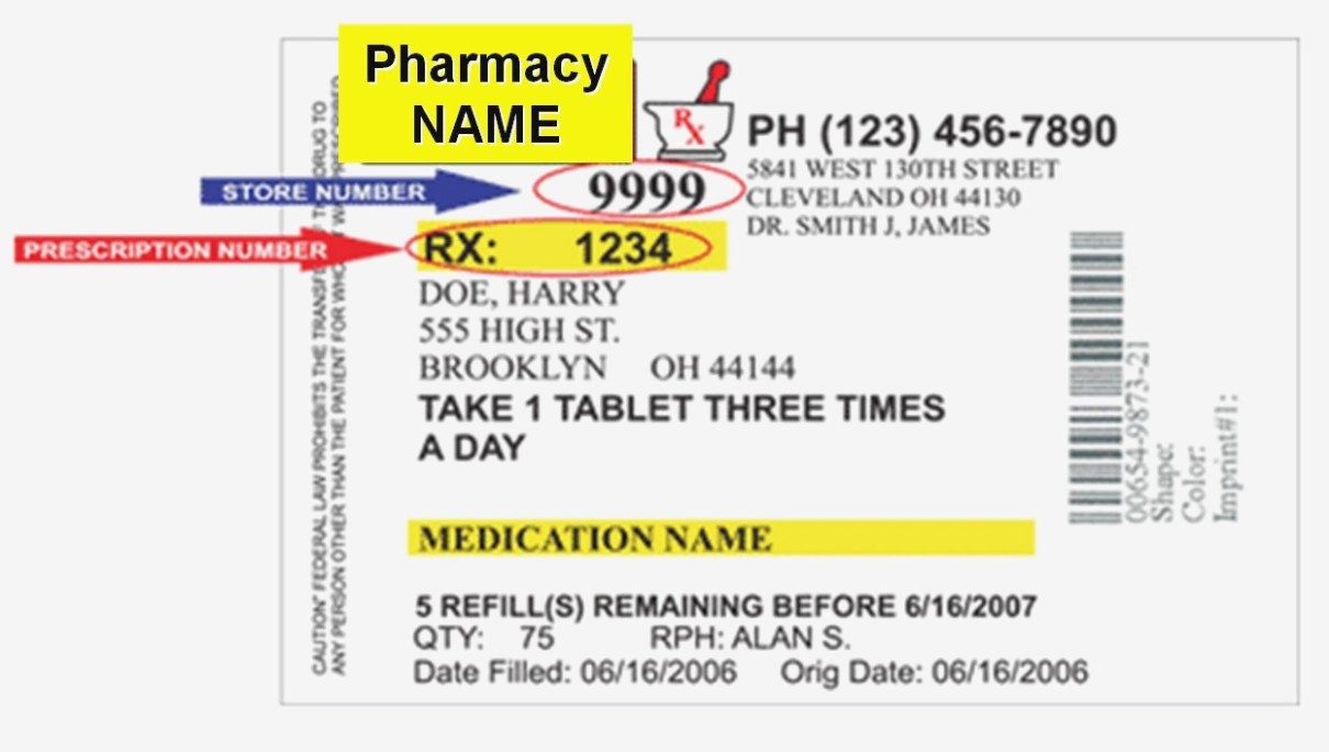 Prescription Bottle Label Generator the Modern Rules
