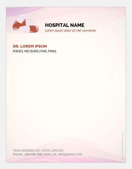 Prescription Pad Template Microsoft Word 5 Doctor Prescription Pad Templates for Ms Word