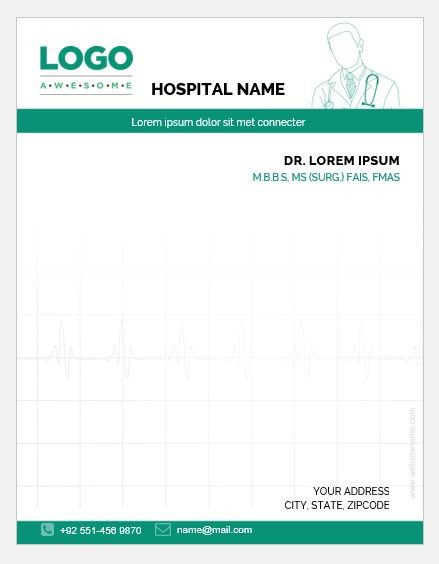 Prescription Pad Template Microsoft Word 5 Doctor Prescription Pad Templates for Ms Word
