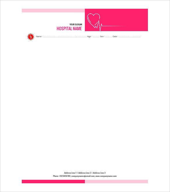 Prescription Pad Template Microsoft Word Doctor Prescription Template – 16 Free Word Pdf