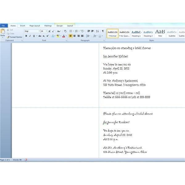 Prescription Pad Template Microsoft Word Printing Wedding Shower Invitations Using Avery 3378