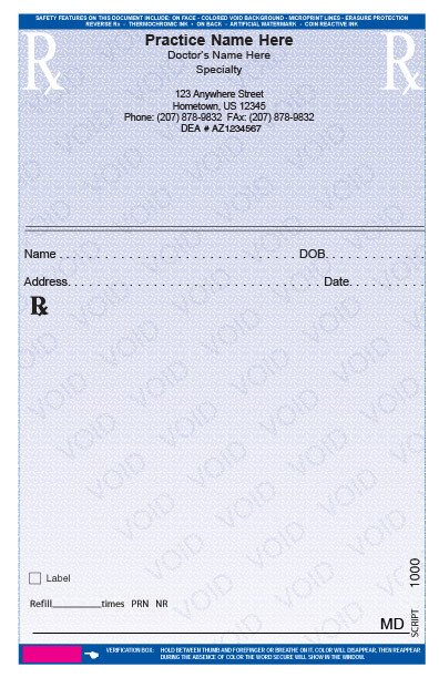 Prescription Pad Template Microsoft Word Rxpads Home Prescription Pads