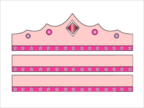 Princess Crown Cut Out 11 Crown Samples Pdf