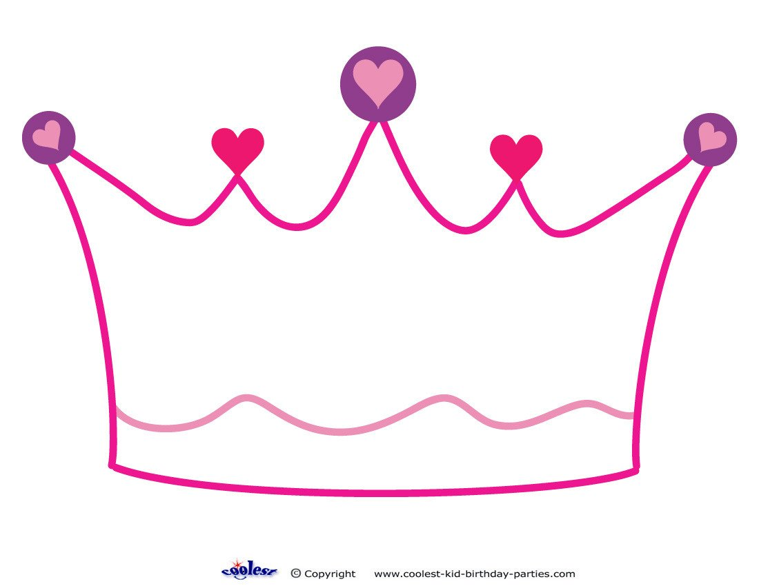 Princess Crown Cut Out Crown Cut Out Clipart Best