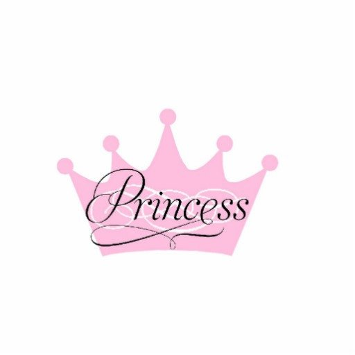 Princess Crown Cut Out Crown Princess Cut Out