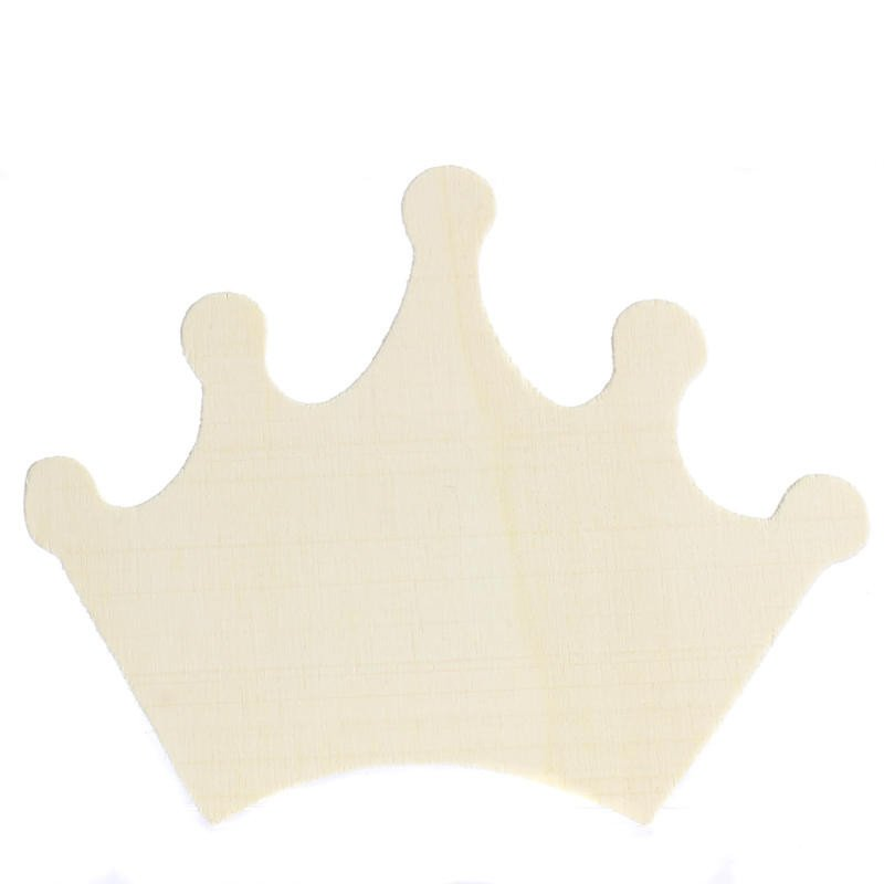 Princess Crown Cut Out Unfinished Wood Princess Crown Cutout Wood Cutouts