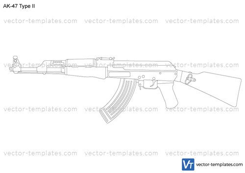 Printable Ak 47 Receiver Template 27 Of Ak Template