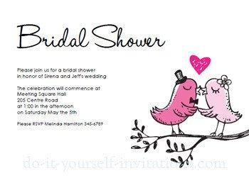 Printable Bridal Shower Card Free Printable Bridal Shower Invitations
