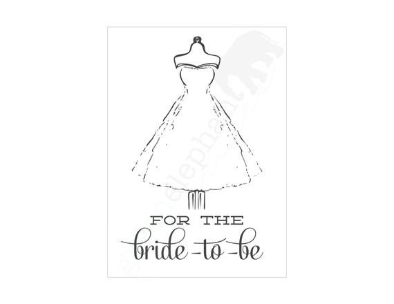 Printable Bridal Shower Card Items Similar to Instant Download Bridal Shower Greeting
