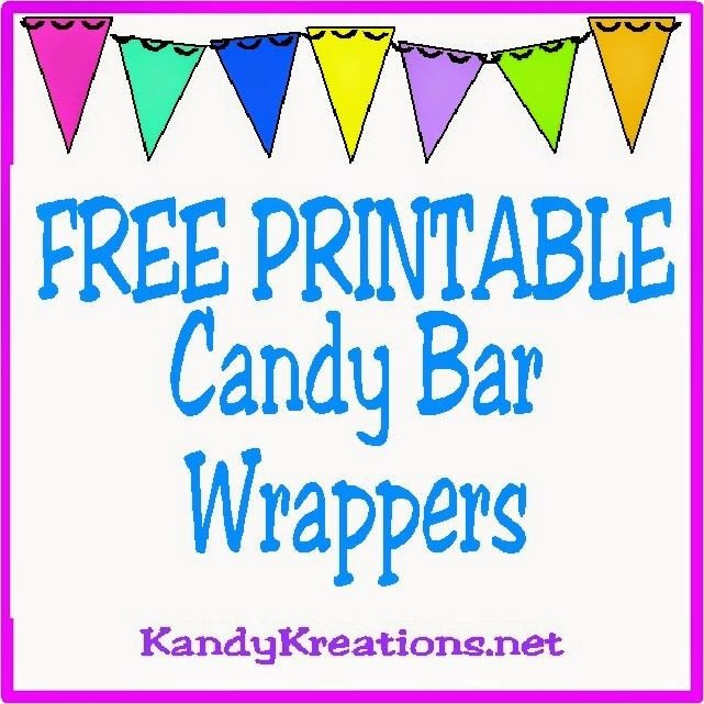 Printable Candy Bar Wrappers 10 Printable Candy Bar Wrappers