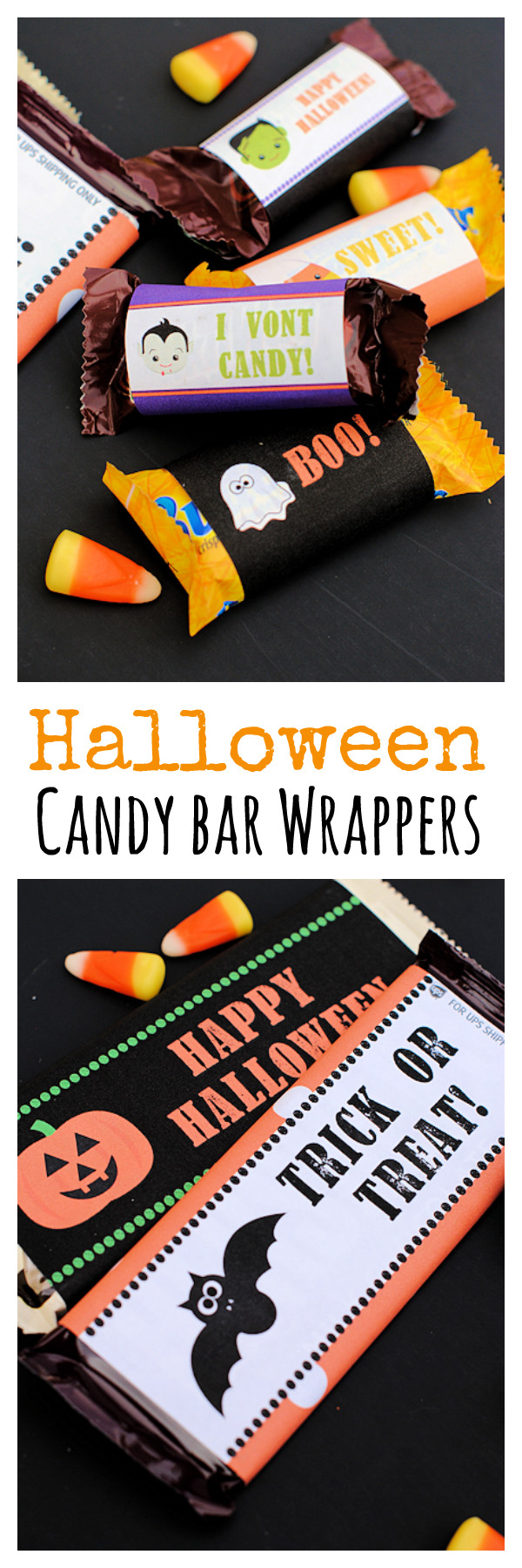 Printable Candy Bar Wrappers Free Printable Halloween Candy Bar Wrappers Crazy Little