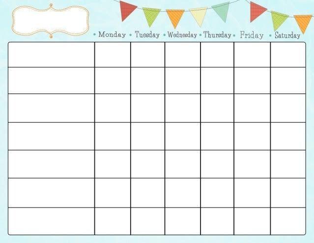 Printable Chore Chart Template Free Printable Chore Charts Kiddo Shelter