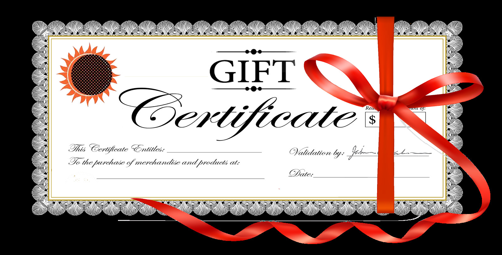 Printable Christmas Gift Certificates Gift Certificate