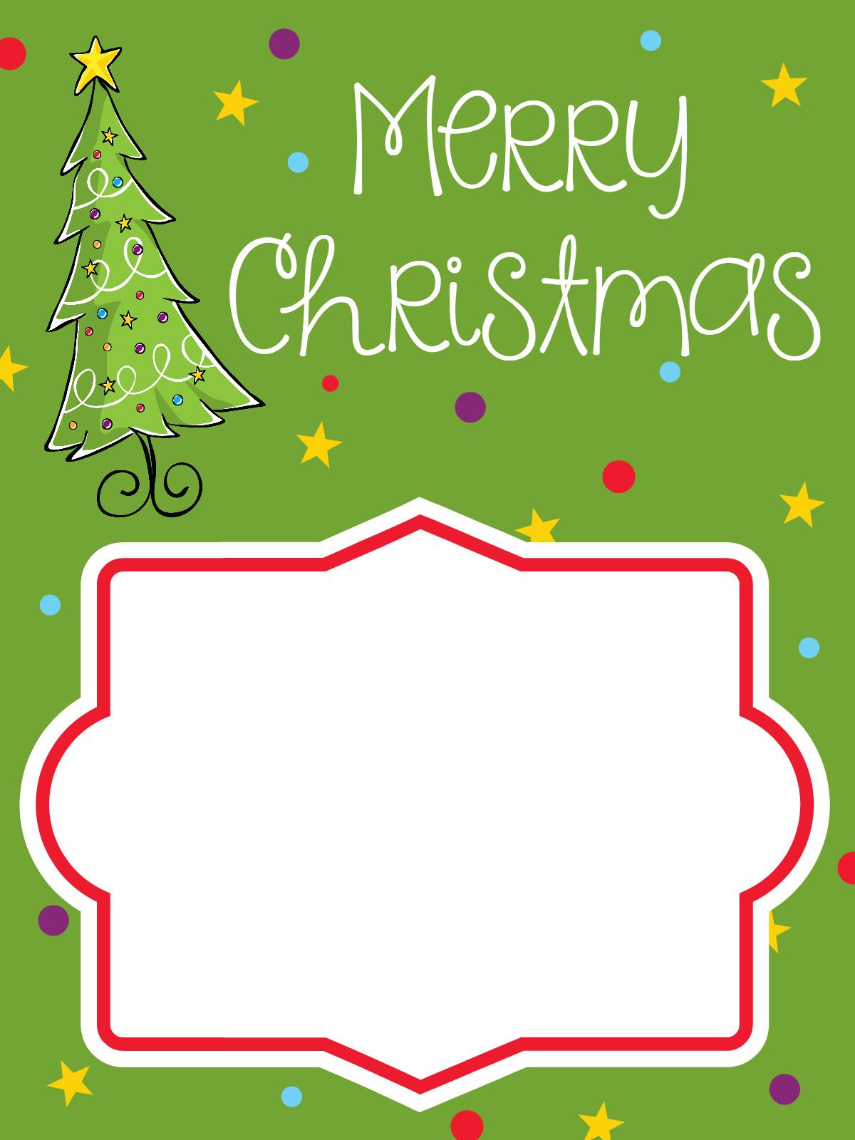Printable Christmas Gift Certificates Printable Christmas Gift Card Holders – Fun Squared