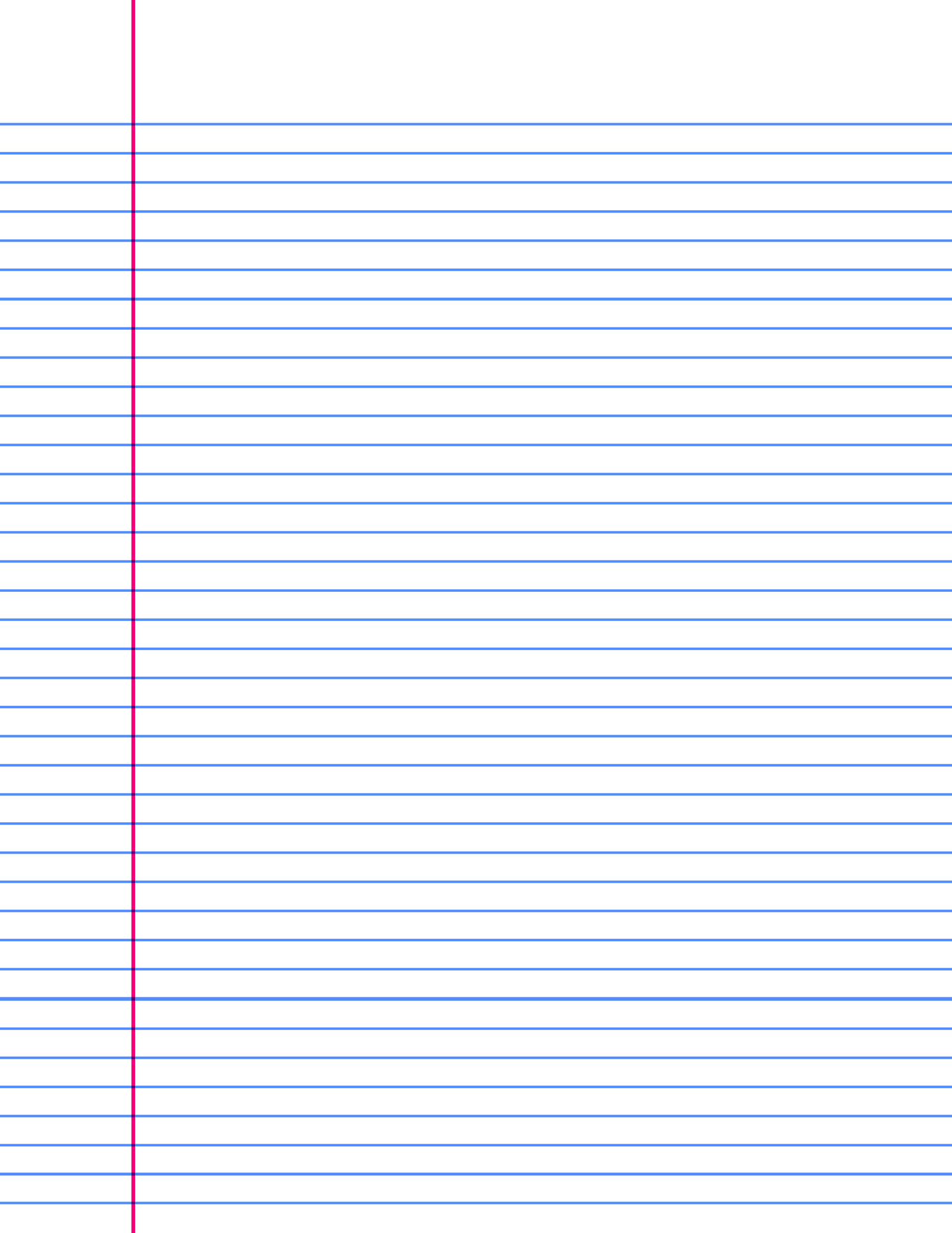 Printable College Ruled Paper A4 Lined Paper Image Lined Paper with Blue Lines College