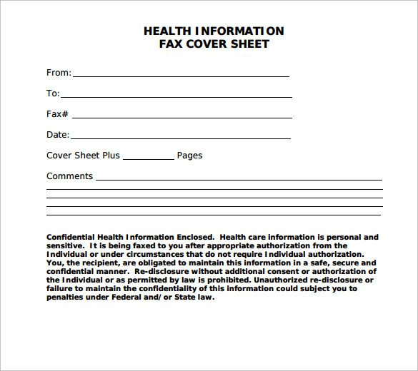 Printable Confidential Cover Sheet Sample Confidential Fax Cover Sheet 12 Documents In Pdf